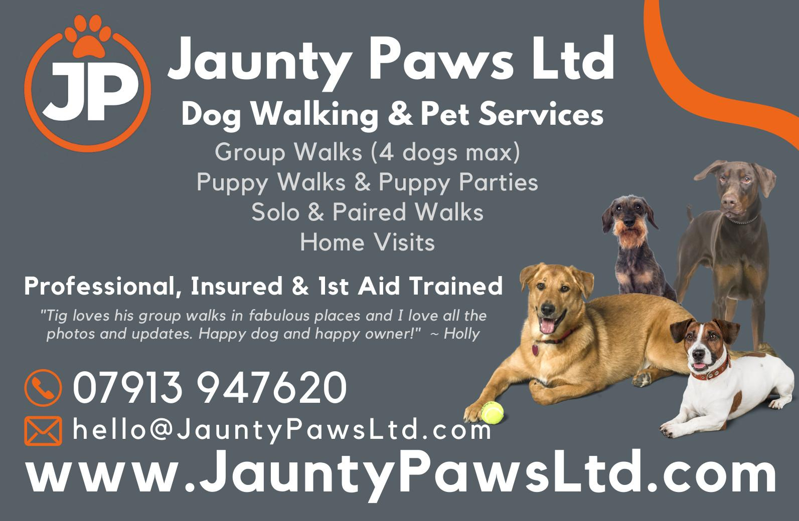Jaunty Paws Dog & Puppy Services